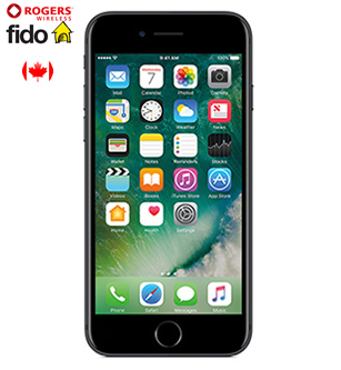 iPhone 7, Fido and Rogers Kanada