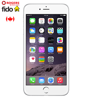 iPhone 6 Plus, Fido and Rogers Kanada